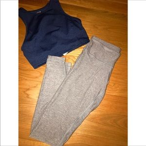 High Waisted Lululemon Grey leggings